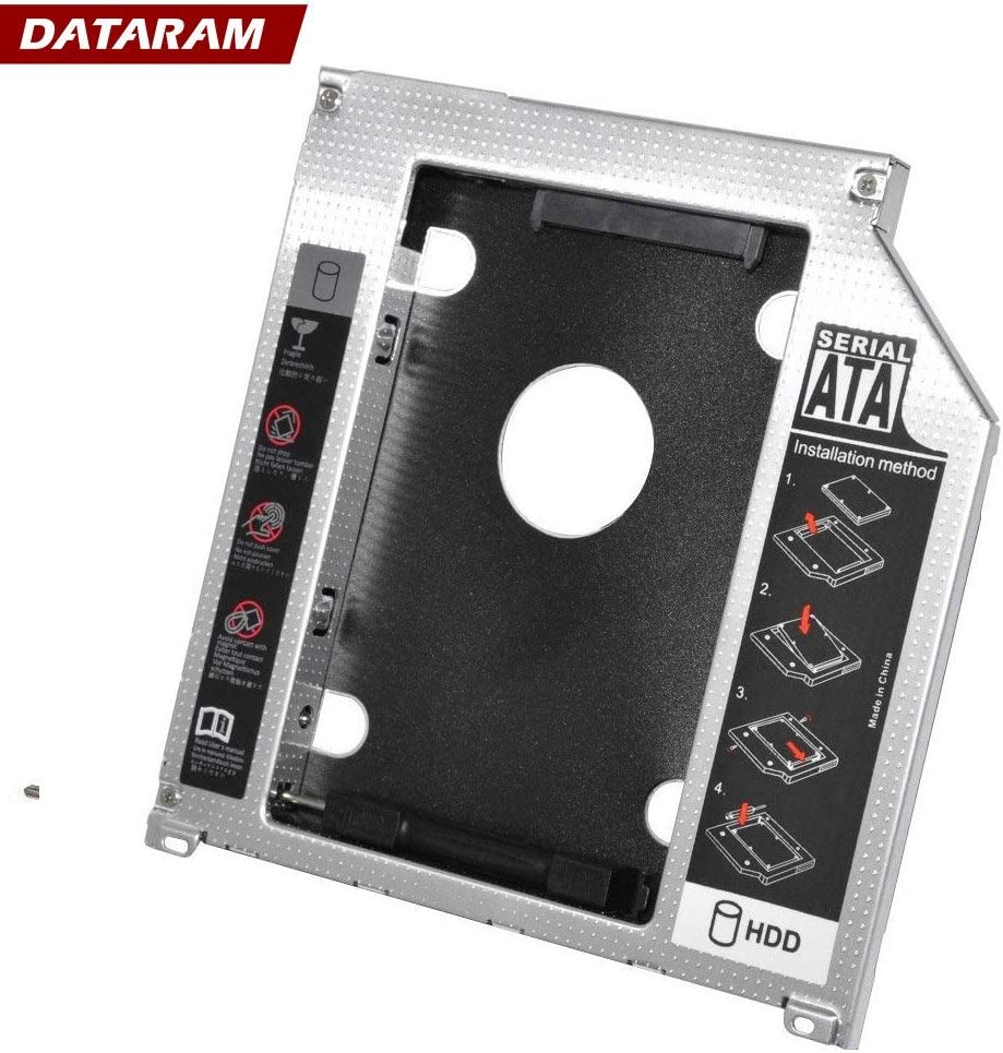 HDD SSD Hard Drive Tray DATARAM 10 Pack 2.5 SSD Solid State Drive 6.0 Gbps SATAIII
