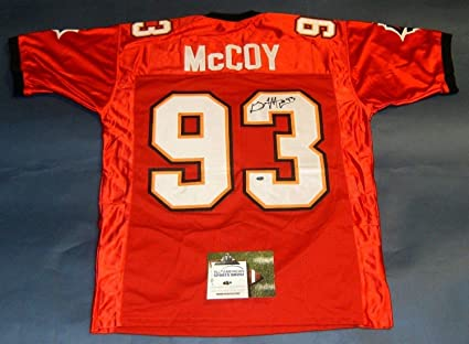 d68b79289 GERALD McCOY AUTOGRAPHED TAMPA BAY BUCCANEERS ROOKIE STYLE JERSEY AASH