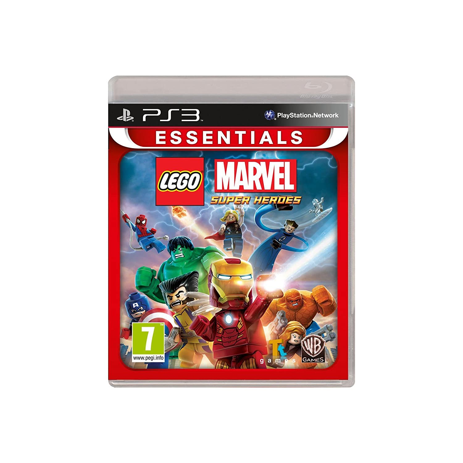 ps3 lego marvel super heroes spiel f r sony playstation 3. Black Bedroom Furniture Sets. Home Design Ideas