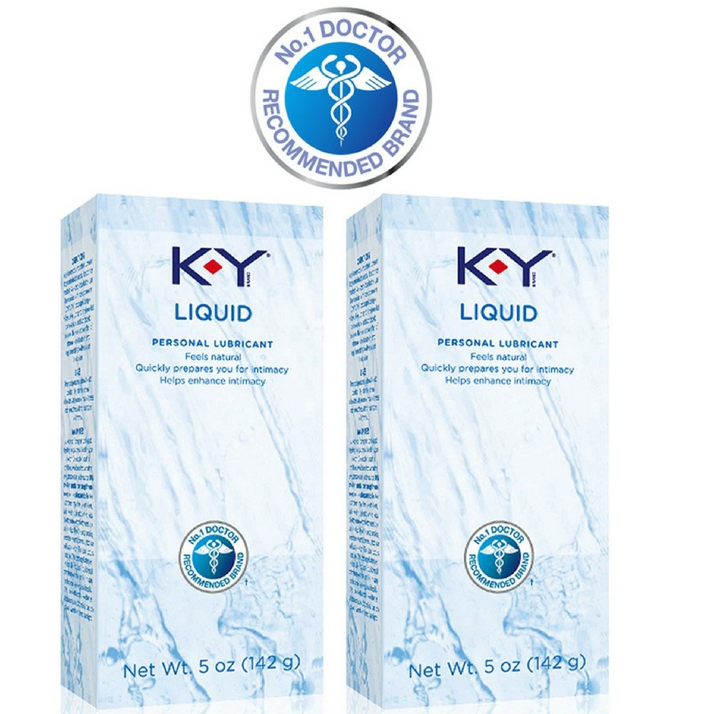 K-Y Liquid Lubricant, 5 Ounce (Pack of 2)