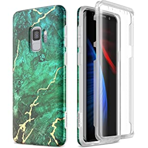 Amazon.com: SURITCH Case for Galaxy S9, [Built-in Screen ...
