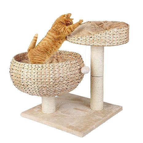 Pedy Estable Rascador Kratz Cama Escalada – Árbol para Gatos Árbol Gato Muebles Gato Torre Robusto