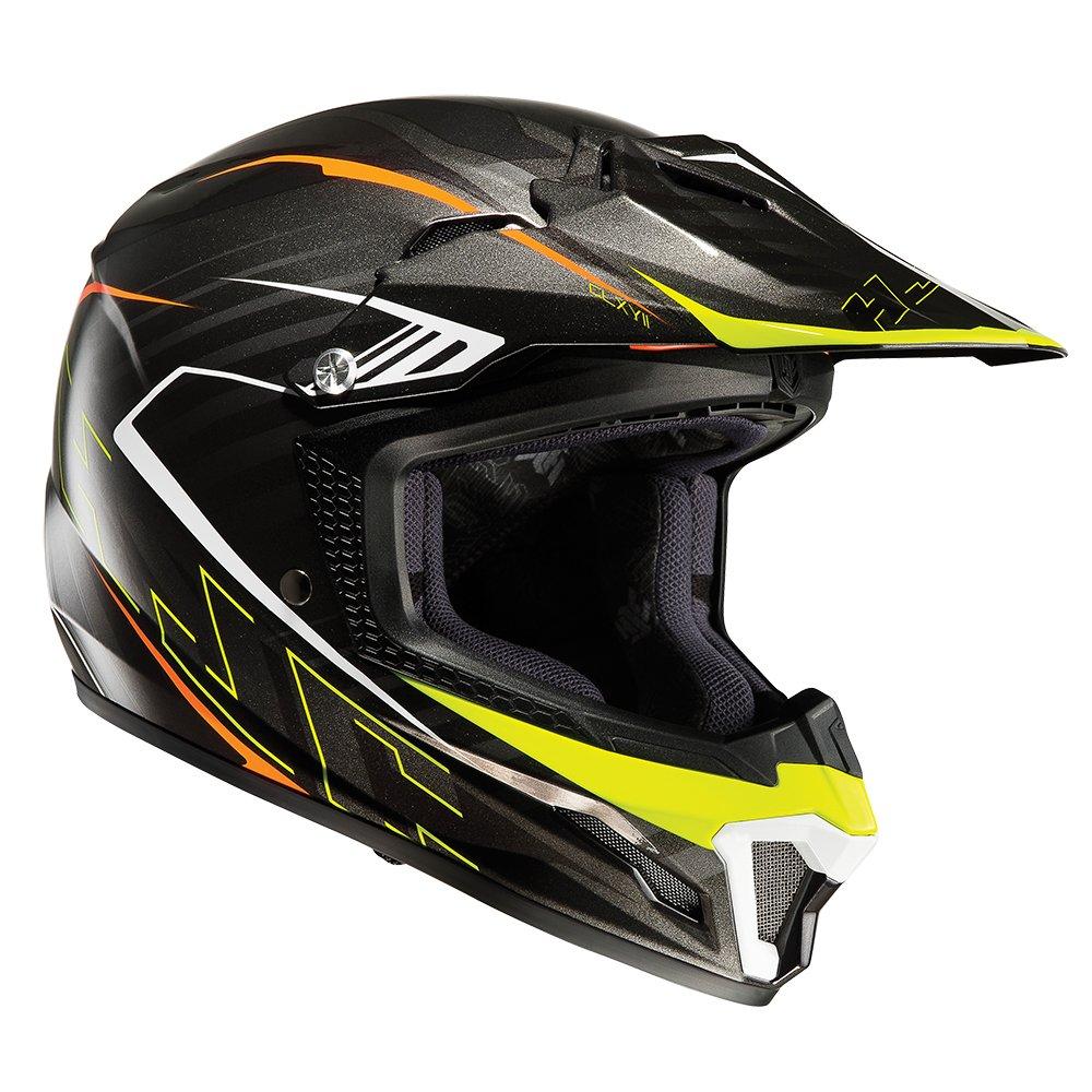 Amazon.es: HJC CL-Y Infantil Motocicleta Casco De Motocross - Negro, L (53-54cm)
