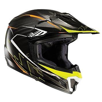 HJC CL-Y Infantil Motocicleta Casco De Motocross - Negro, L (53-