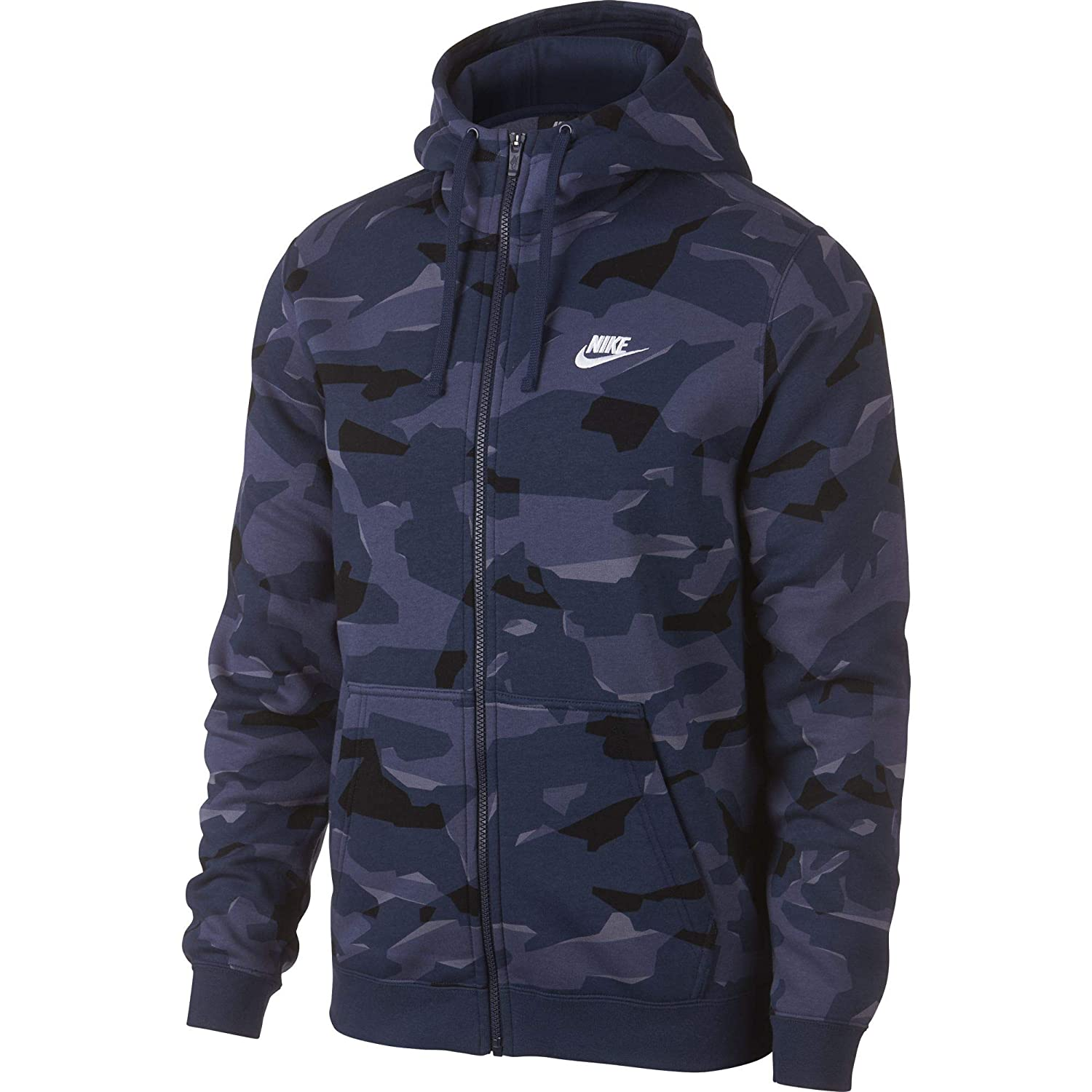 factory outlet cheap prices cute NIKE Mens Club Camo Basketball Full Zip Hoodie