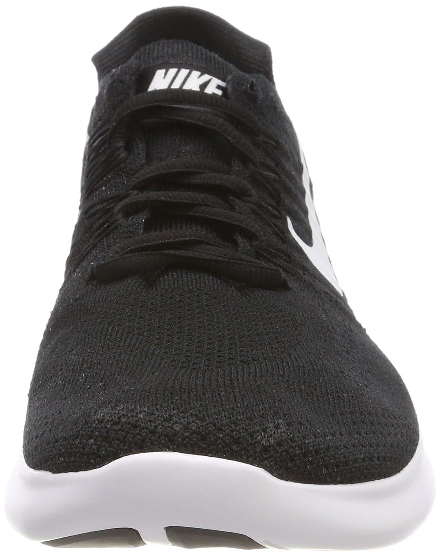 NIKE Women's Free RN Flyknit 2017 Running Shoe B06Y3PY1WJ 9 B(M) US|Black/White-black