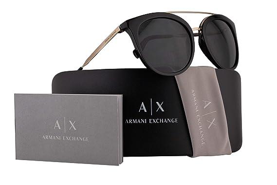 Amazon.com: Armani Exchange AX4068S - Gafas de sol (2.165 in ...
