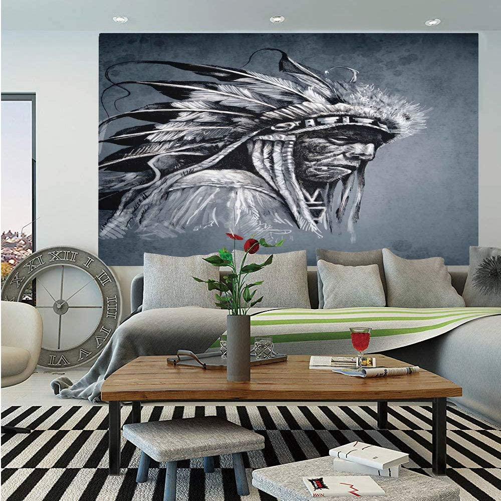 Amazon Com Sosung Native American Huge Photo Wall Mural Hand