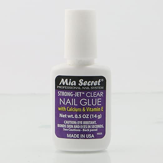 Mia Secret Nail Glue With Calcium & Vitamin E   Brush On #335 by Mia Secret