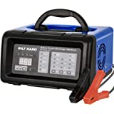 BILT HARD 2/10/20/100A 6/12V Smart Battery Charger and Engine Start, Fully Automatic Battery Maintainer, Desulfator and Diagn