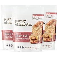 purely elizabeth Grain-Free Bread & Muffin Mix, Paleo & Gluten-Free, 3 Pack