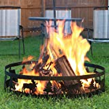 Sunnydaze Wild Moose Fire Pit - Large 36 Inch