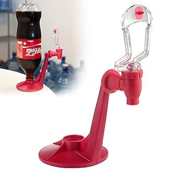 Fuente dispensador de cóctel agua centelleante) bebida botella de Soda Sirope de 2 L para fiestas Soirée, rojo: Amazon.es: Hogar