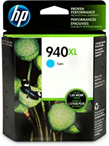 HP 940XL | Ink Cartridge | Cyan | C4907AN