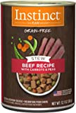 Instinct Grain Free Stews Recipe Natural Wet Canned Dog Food by Nature's Variety