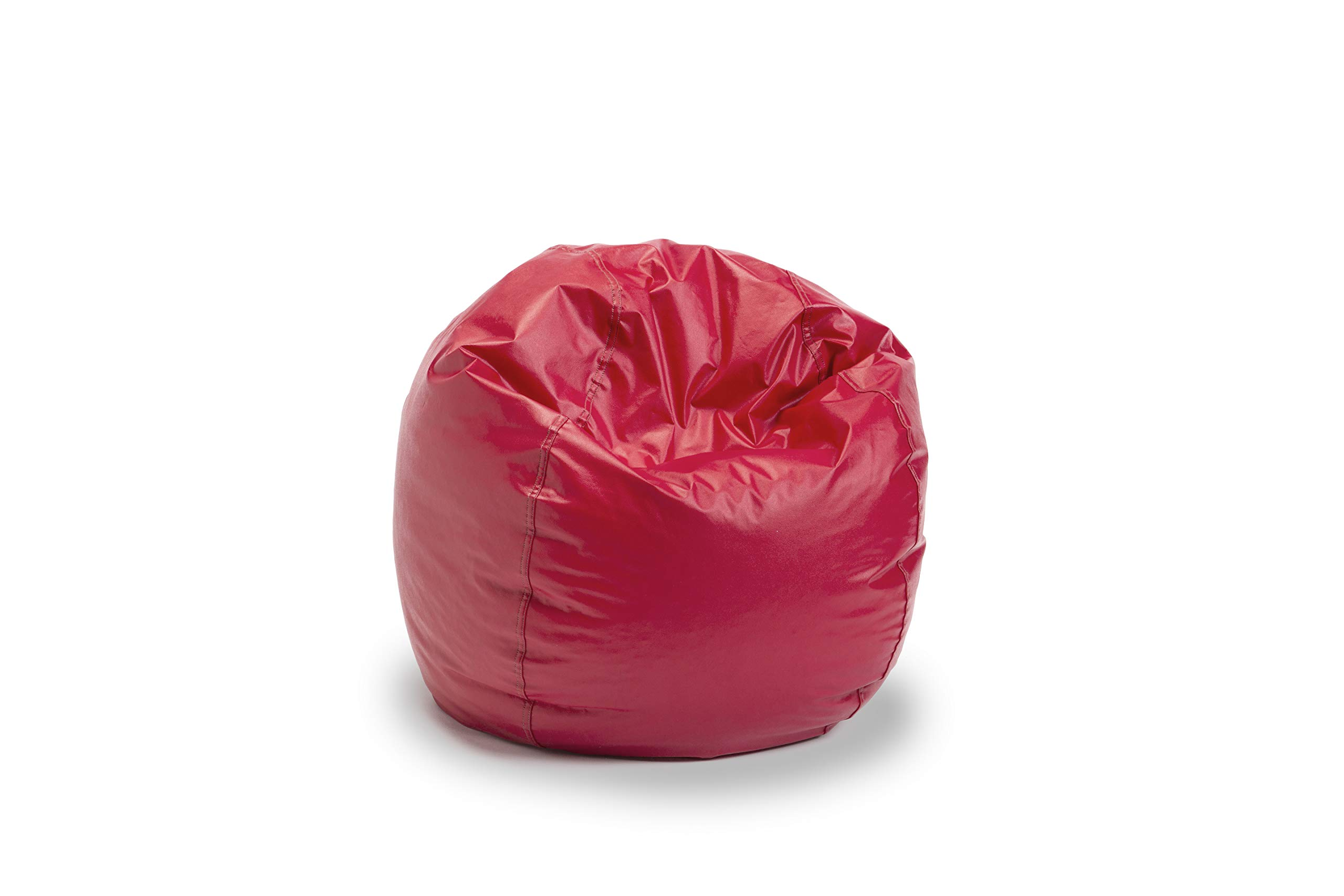 Bigger and Better! Child Size Bean Bag Chair (Red), 100% American Made by American Bean Bag Chairs