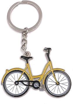Onlineworld2013 Llavero Bicicleta Bicicleta Rueda Colgante de ...