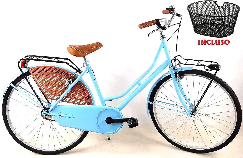 CSM - Bicicleta 26 de Hombre y Mujer Holanda, sin Cambio de Acero ...