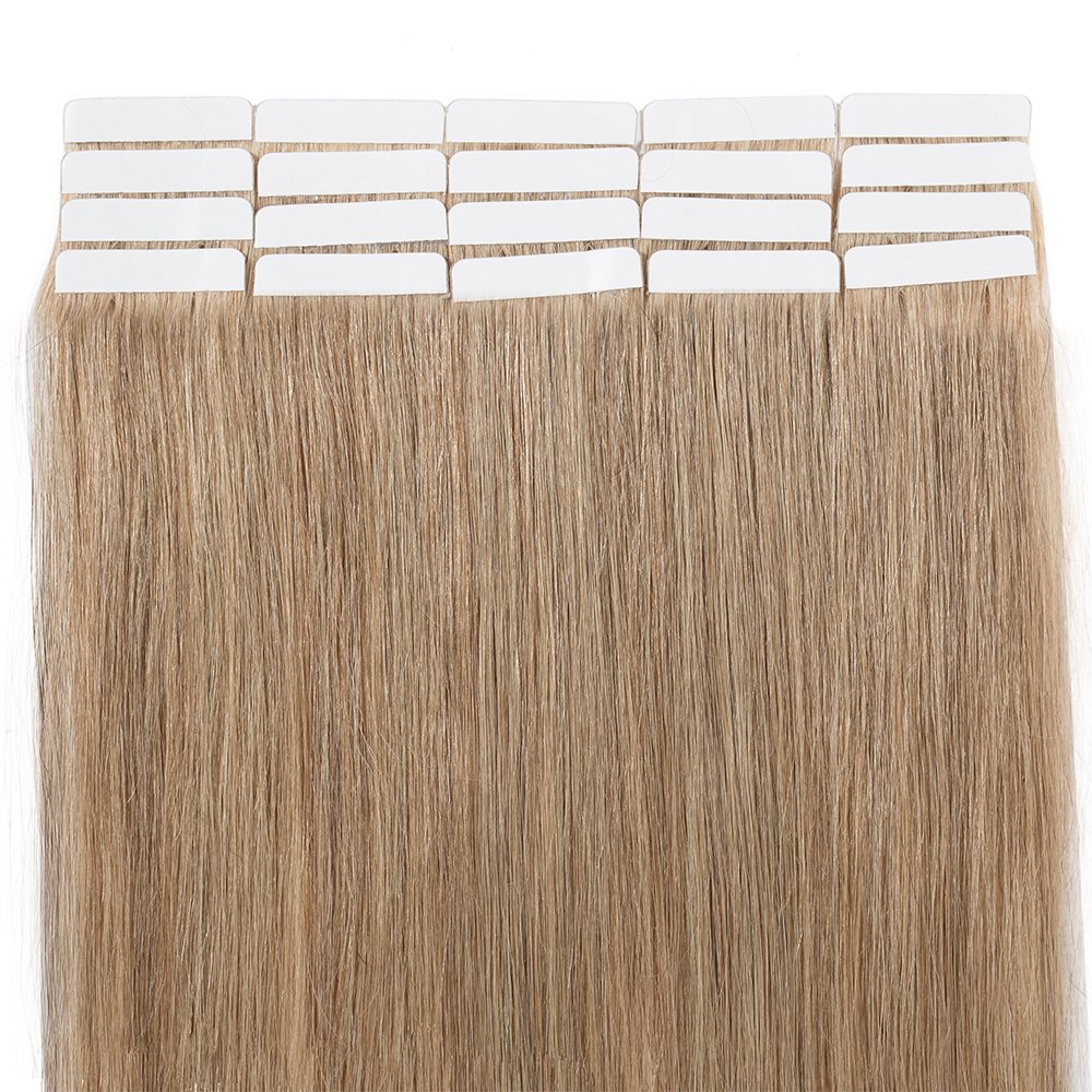 Outlet Tape In Virgin Human Hair Extensions 100 Remy Human Hair 20