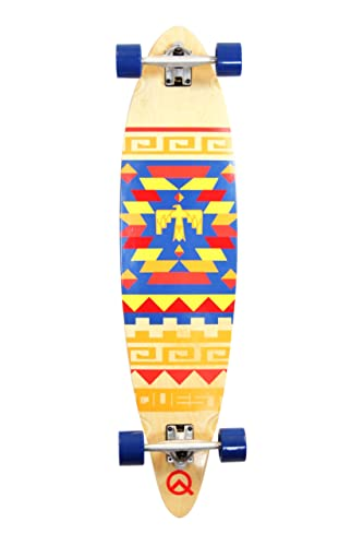 Quest Tribes Pin Kick Tail Longboard Skateboard