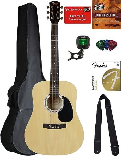 Squier por Fender guitarra sa-150 paquetes: Amazon.es ...