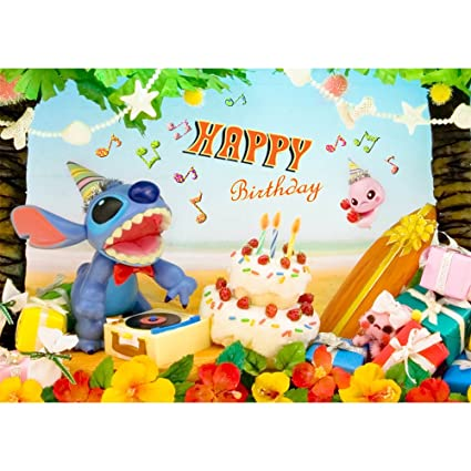 Amazon disney stitch birthday cards amazing 3d lenticular disney stitch birthday cards amazing 3d lenticular postcard greeting cards m4hsunfo