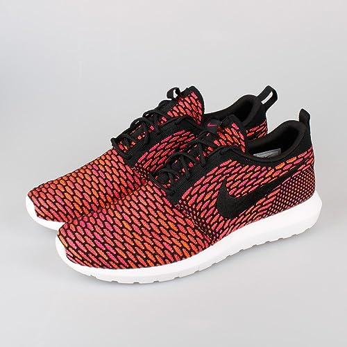cbef28c37c11 Nike Flyknit Roshe Run NM Berry (US 11.0   EU 45.0)  Amazon.co.uk  Shoes    Bags