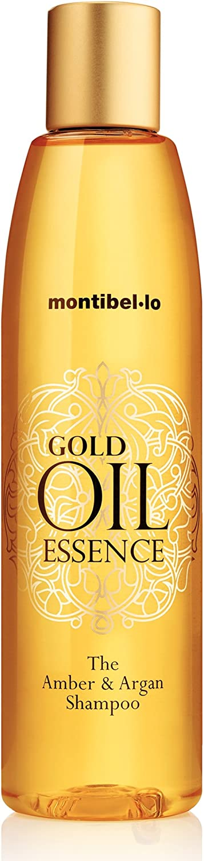CHAMPU AMBER Y ARGAN GOLD OIL ESSENCE montibello (250ml)