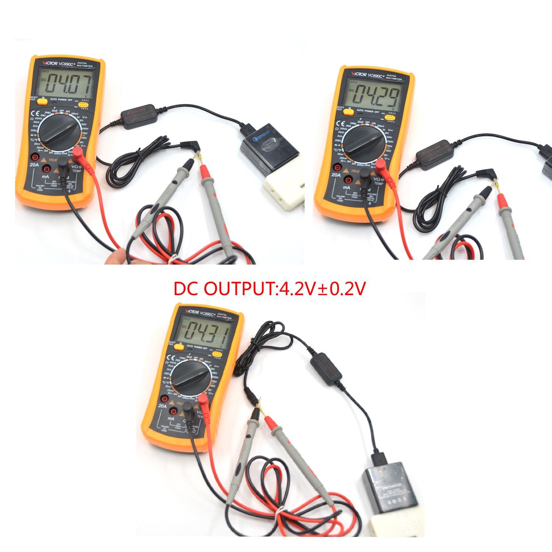 Acoplador DC DK-X1 Bater/ía Falsa NP-BX1 para Sony DSC-RX1 DSC RX100 RX1R Cable USB AC-LS5 Cargador de Banco de Potencia m/óvil de c/ámara de 5V-4.2V