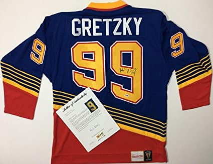 low priced 47e4b e4e71 Wayne Gretzky St. Louis Blues Autographed Signed Mitchell ...