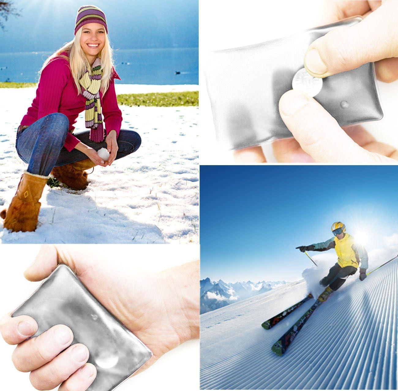 UE/®/ m/ême de erw/ärmend Home Tools longue dur/ée r/éutilisable Scie /à main /4/x la chaleur de coussin Bouillotte de poche 10/x 6,5/cm Lot de 4 Coussin en gel