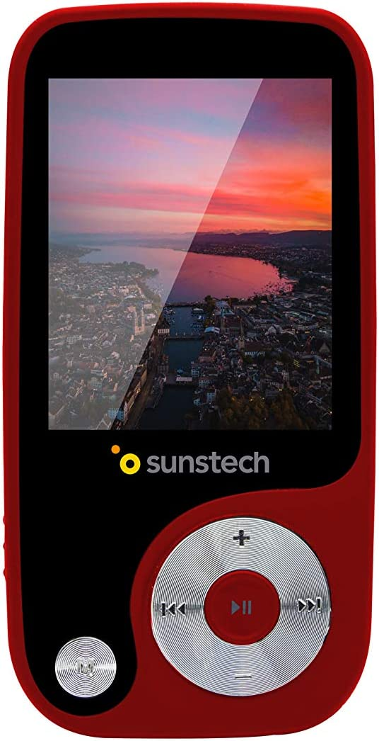Sunstech Thorn - Reproductor de MP4 (4 GB, pantalla de 1,8