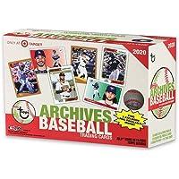 $79 » 2020 Topps Archives Baseball Mega Box EXCLUSIVE 16 Packs Plus Bonus Pack 131 Total Trading Cards
