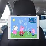 Car Tablet Headrest Mount, Car Back Seat Bracket 360° Adjustable for iPad 2/3/4/Mini/Air/Pro, Samsung Galaxy Tab, Kindle…