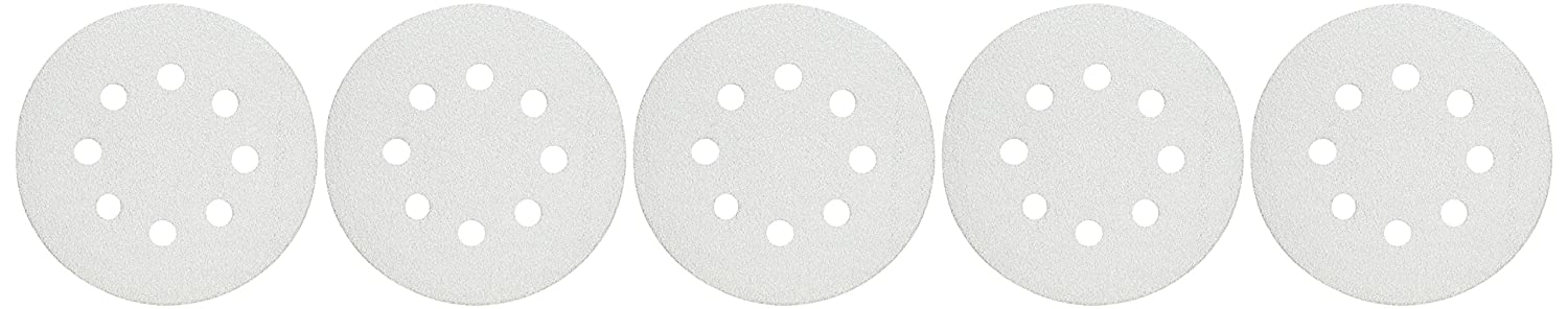 for Easter Yellow Xisheep Home D/écor Tools /& Home Improvement 5-Inch 8-Hole 80-Grit Dustless Hook and Loop Sanding Discs 50-PackSand Paper