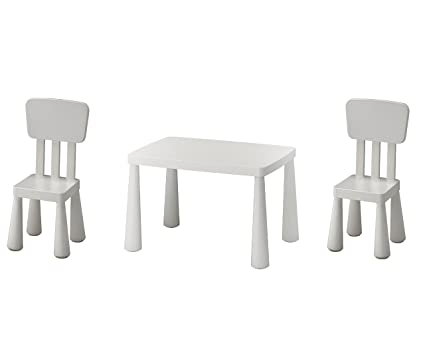 Tavolino E Sedie Ikea Mammut.B2 C Ikea Mammut Tavolo Per Bambini Bianco E Mammut Sedia