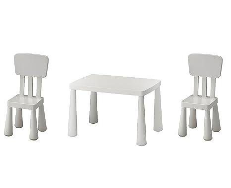 B2 C Ikea Mammut, Tavolo per Bambini, Bianco e Mammut Sedia ...