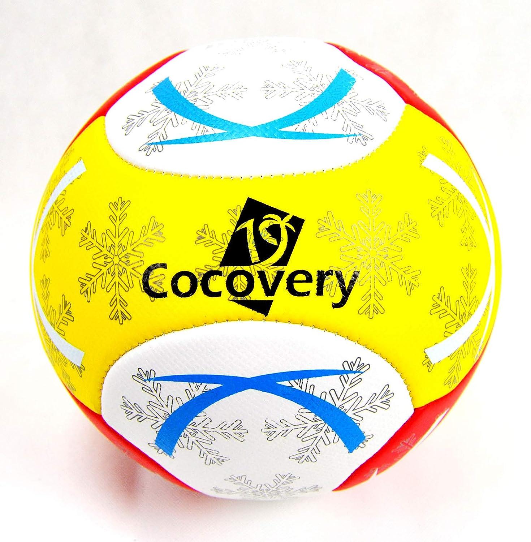 Balón Fútbol para Playa-Foam-Cocovery19 (Naranja): Amazon.es ...