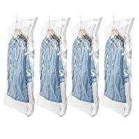 Deals on 4 Pack Hi Storage Hanging Vacuum Storage Space Saver Bags