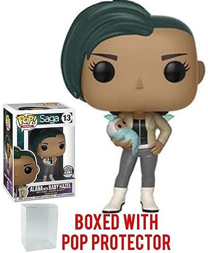 Amazon.com: Funko POP. Comics: Saga – Alana con bebé Hazel ...