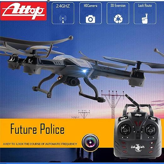 Amazon com: Premium Future Police Remote Control Drone RC