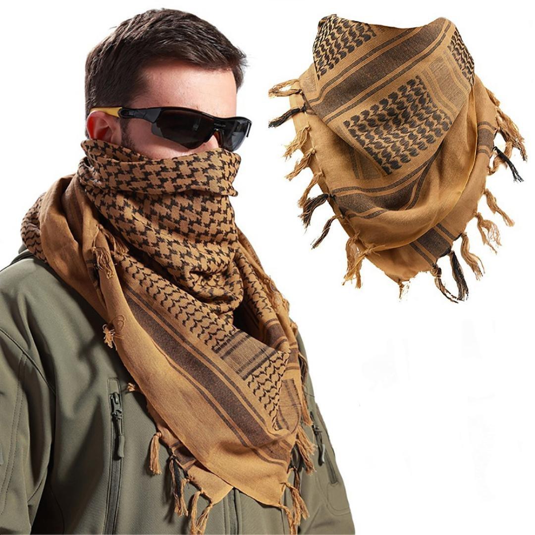Oksale Military Men Scarves Arab Tactical Desert Army KeffIyeh Scarf Shawl  (Black) at Amazon Men s Clothing store  b2eeaf7d39e2