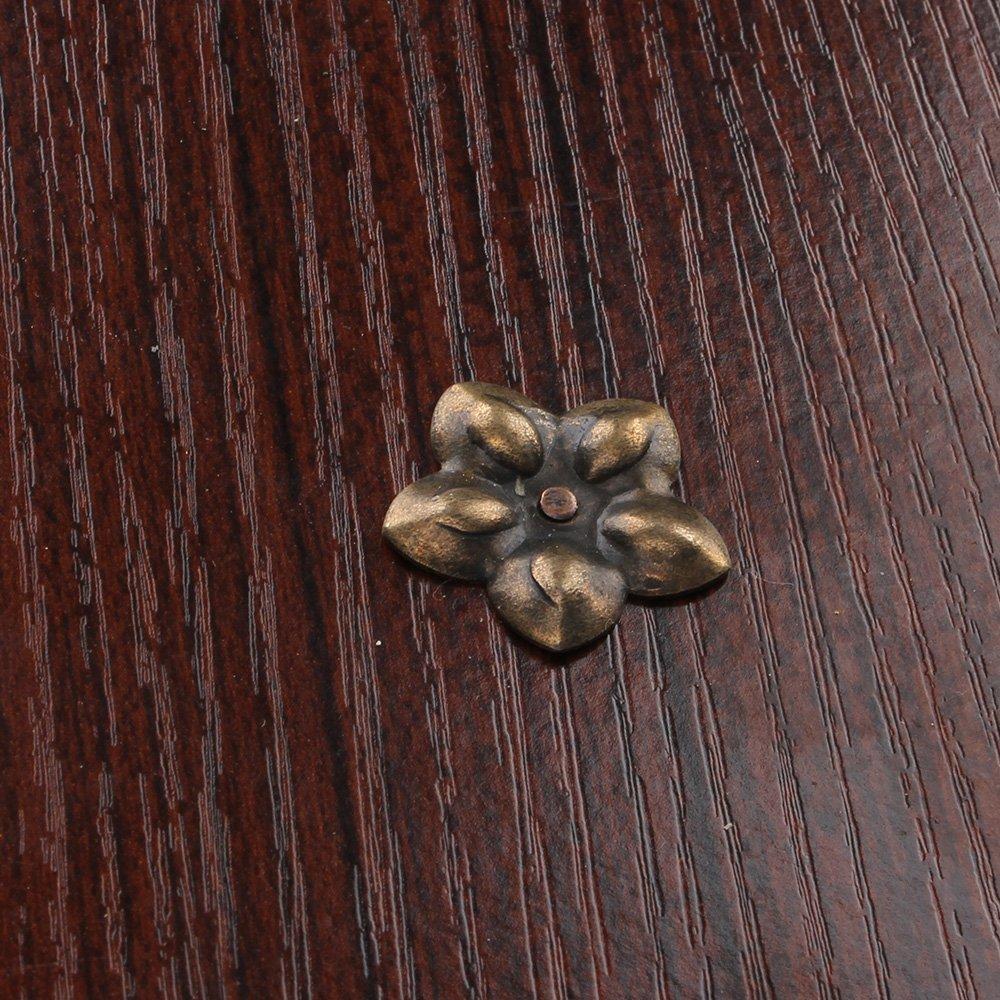 Yibuy 100/Vintage 23/x 2,5/mm M/öbel Deko N/ägel Polstern/ägel N/ägel Nieten Pins
