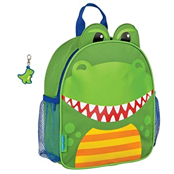 Image Unavailable. Image not available for. Color  Stephen Joseph Mini  Sidekick Dinosaur Backpack and Zipper Pull - Toddler Backpacks 6101c9cf7478c