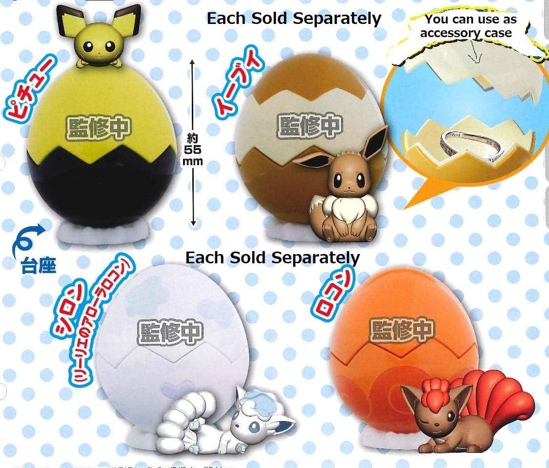 Egg Pot Pichu Mini Figure Capsule case