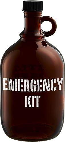 Artland Barkeep Beer Growlers, Emergency Kit, Brown