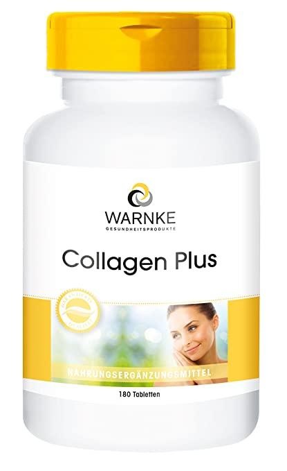 Colágeno Plus - 180 cápsulas – con ácido hialurónico y vitamina C