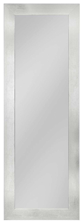 your-homestyle Rahmenspiegel/Wandspiegel Elke, 54 x 154 cm, Aluminium-Optik, für Schlafzimmer, Badezimmer, Wohnzimmer Garderobe und mehr geeignet