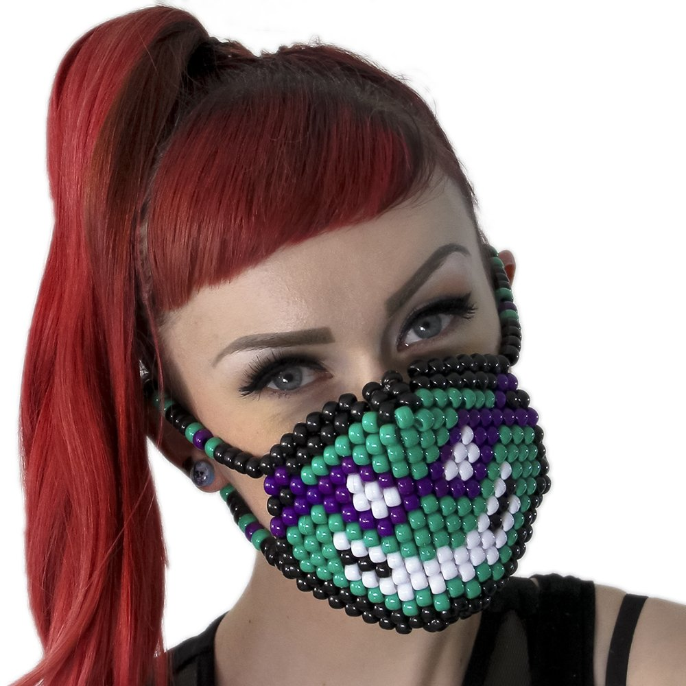 Kandi Gear Mascara Kandi Quirurjica de Donatello Tortugas ...