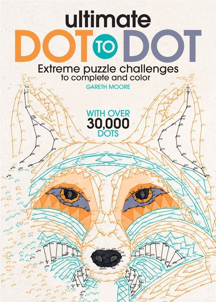 Amazon Com Ultimate Dot To Dot Extreme Puzzle Challenge